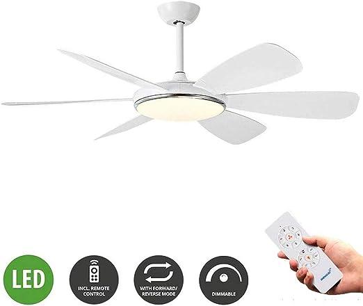 Ventilador De Techo Del LED Con La Luz Alejada Inteligente De ...