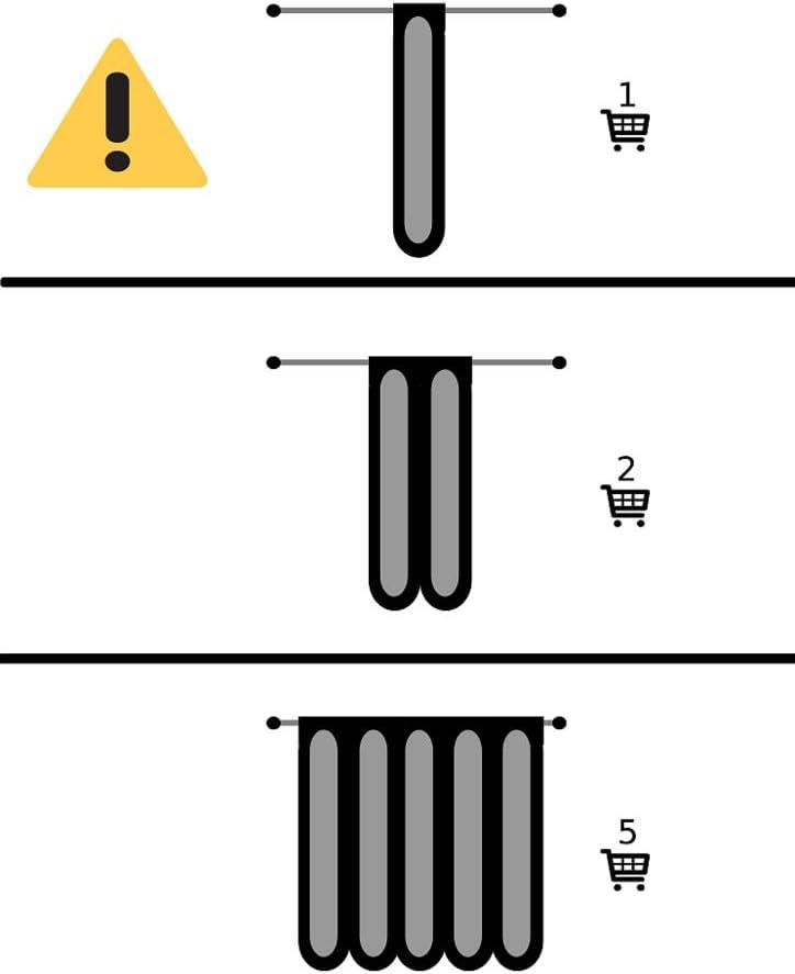 Anfertigung nach Ma/ß Breite der Gardine durch gekaufte Menge in 34 cm Schritten w/ählbar | wei/ß mit bunt Scheibengardine mit Luftschlangen 45 cm hoch Vorhang K/üche Wohnzimmer