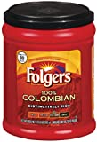 Folgers Black Silk, Dark Roast Ground Coffee, 24.2 Ounce