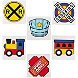 Train Party Tattoos - 72 pc