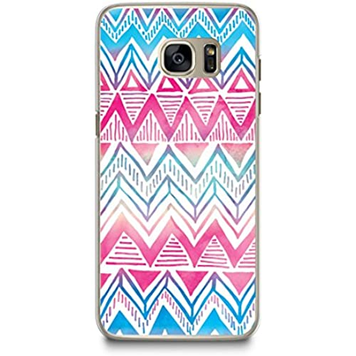 Case for Samsung S7, CasesByLorraine Colorful Aztec Tribal Pattern Case Plastic Hard Cover for Samsung Galaxy S7 (L16-1) Sales