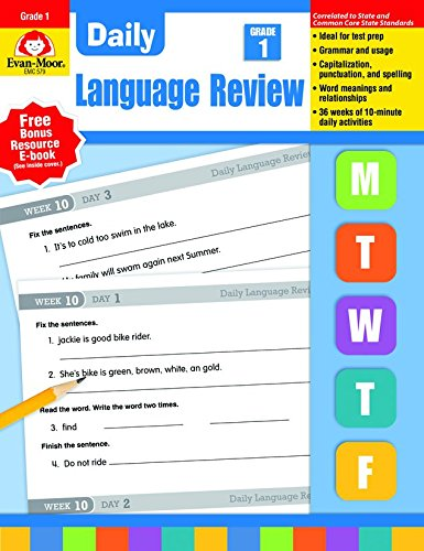 Daily Language Review, Grade 1 ()