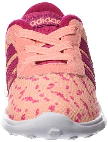 adidas Lite Racer Inf, Zapatos de Primeros Pasos Unisex Niños Multicolor (Nadecl / Rosfue / Rosimp)