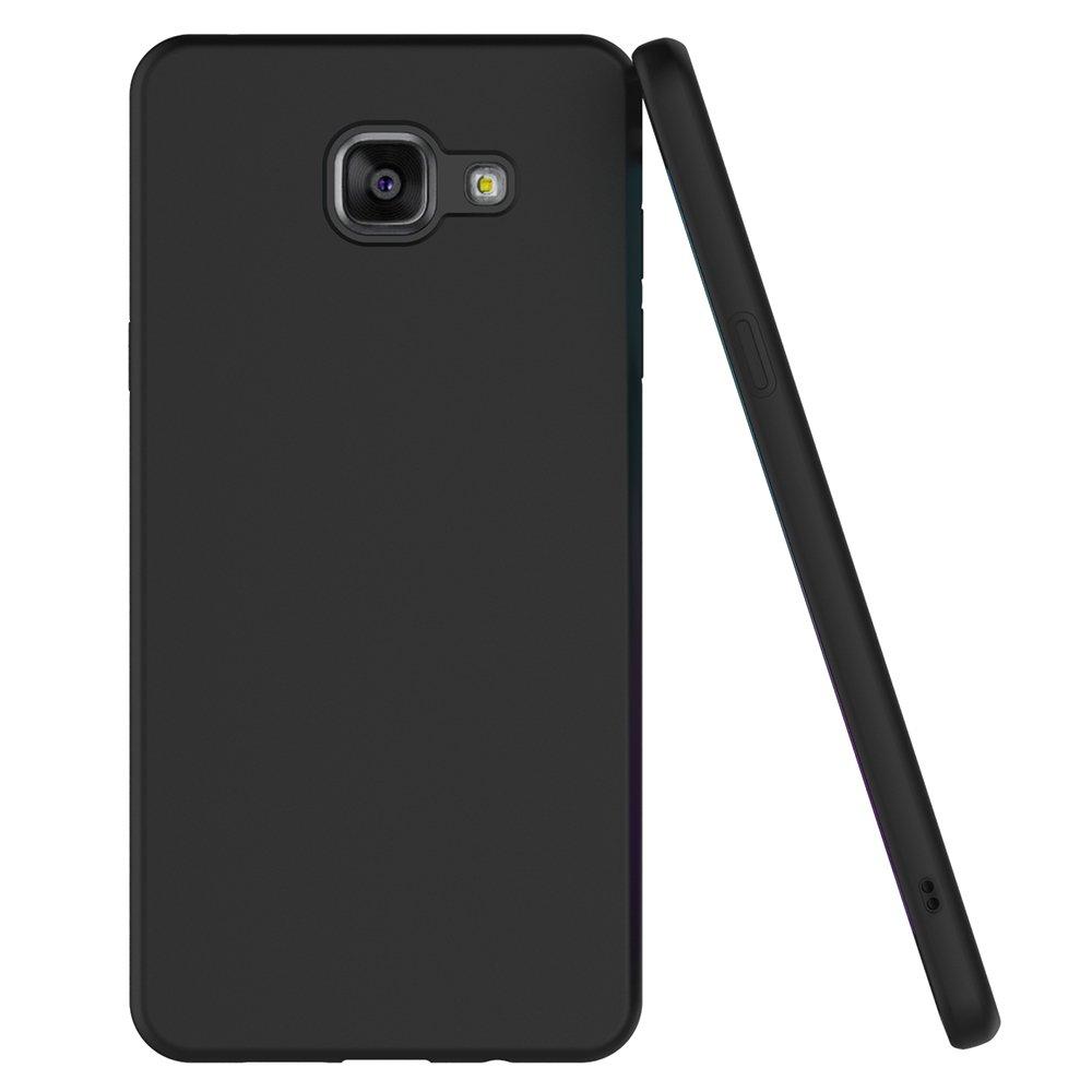 ebbd4628fb5 AICEK Funda Compatible Samsung Galaxy A5 2016, Negro Silicona Fundas para  Galaxy A5 2016 Carcasa A510 (5,2 Pulgadas) Negro Silicona Funda Case:  Amazon.es: ...