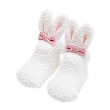 Scrox 1Par Calcetines de bebé Recién Nacido niña 3 años Lindo Conejo ...