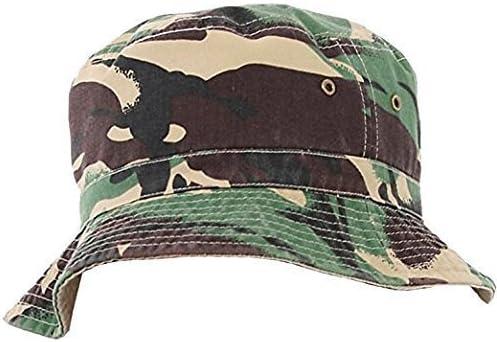 JMC Trading Company Green Camouflage Reversible Bush HAT