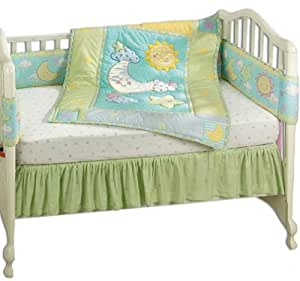 Amazon Com Just Born Iridescent Moon 4 Piece Crib Set