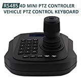 PTZ Controller,LEFTEK Vehicle PTZ Joystick CCTV Keyboard Analog Camera RS485 Controller With LCD Screen Display Menu (4D joystick controller)