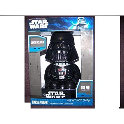Darth Vader Dispenser with gumballs. Lights and sounds!: Toys & Games