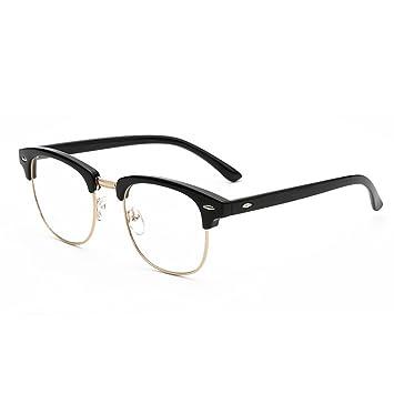 M-Egal New Designer Round Men Glasses Retro Fashion Black Women ...