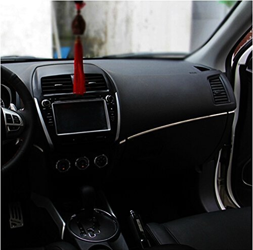 9-moon-stainless-steel-console-light-bar-trim-cover-ring-for-mitsubishi-asx-2011-2013-model-car-vehi