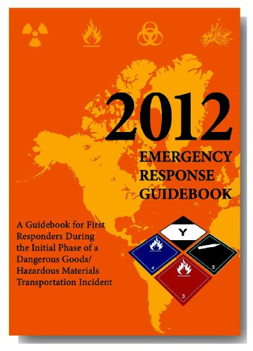 2012 Emergency Response Guidebook (ERG): Pocket Edition
