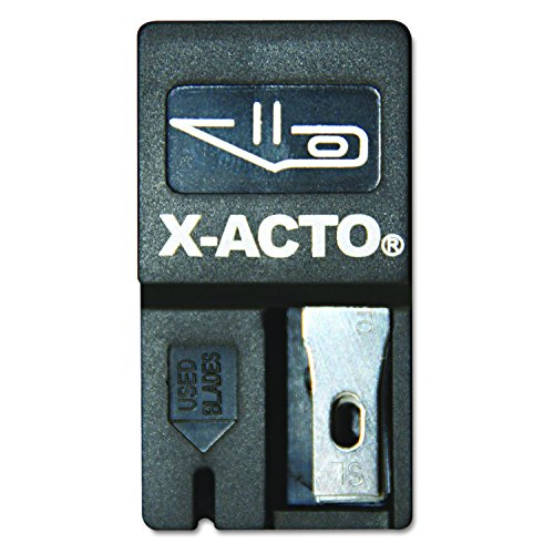 - X-ACTO Nonrefillable Blade Dispenser, 15 per Pack (X411)