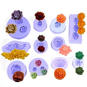 molde de silicona fondant Molde/Forma de Tarta/Pastel/Mona Decoracion Model: F0089