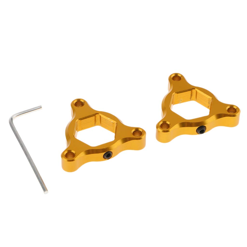 Red B Blesiya CNC Aluminum Motorcycle Front Suspension Fork Preload Adjusters 17mm for KAWASAKI ZX6R//ZX636R//ZX6RR GTR1400//Concours 14 ZX-9R ZX-7R//RR