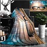 Best Eddie-bauer-eyeglasses - Nalagoo Unique Custom Flannel Blankets Glasses Focus Background Review