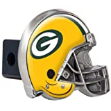 Great American Products NFL Green Bay Packers Metal Helmet Trailer Hitch Cover