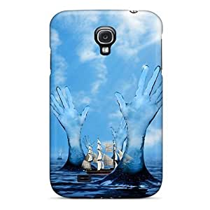 New Saraumes Super Strong Sailing The Sea Hd Tpu Case Cover For Galaxy S4