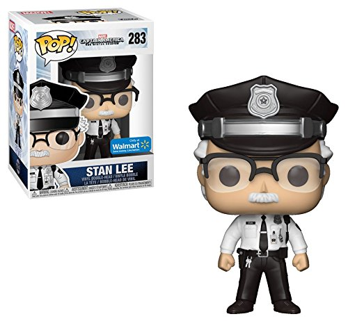 Stan Lee - Capitán América: ¡The Winter Soldier Cameo Pop! Figura de vinilo: Amazon.es: Juguetes y juegos