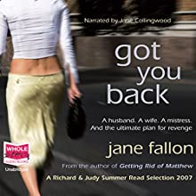 Got You Back Audiobook by Jane Fallon Narrated by Jane Collingwood