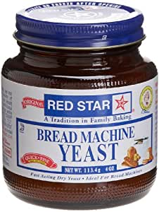 Amazon Com Red Star Bread Machine Yeast 4 Oz Grocery
