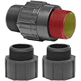 Superior Pump 99555 Plastic Universal Check Valve Kit for 1-1/4-Inch & 1-1/2-Inch MPT & FPT