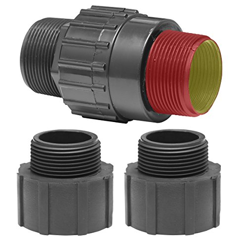 [Superior Pump 99555 Plastic Universal Check Valve Kit for 1-1/4-Inch & 1-1/2-Inch MPT & FPT] (Sump Pump Hose)