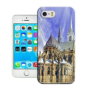 Modern Customizable Watercolor style architecture Case Cover for iphone 5/5s