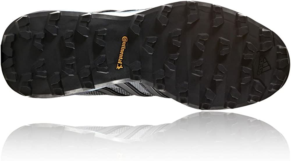 adidas Damen Terrex Skychaser GTX W Trekking- & Wanderhalbschuhe, Schwarz, 43.3 EU Grau (Gridos/Negbas/Azuvap)