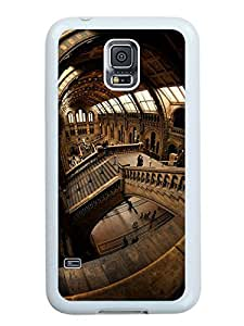 Hot Sale Samsung Galaxy S5 I9600 Case ,Unique And Beautiful Designed Samsung Galaxy S5 I9600 Case With natural history museum london White Phone Case