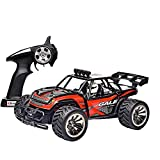 ERolldeep 2WD High Speed 1/16 Racing Truck 2.4Ghz Rock Off-Road Vehicle Rc Cars RC Remote Radio Control Crawler With Rechargable Battery