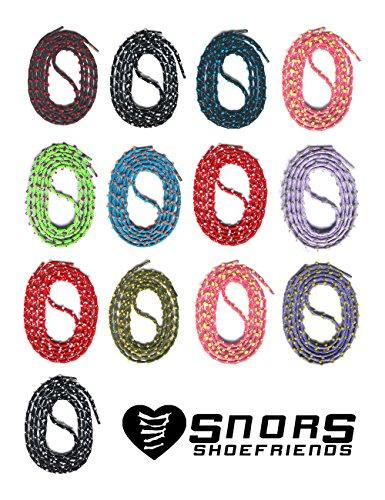 Snors Lacci 3 Colorati Scarpe Rosso Mm 1