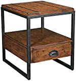 Universal Lighting and Decor Hammary Baja Rectangular 1-Drawer End Table Review
