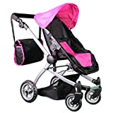 Mommy & Me Deluxe Babyboo Doll Stroller with Carriage Bag included (Multi Function View All Photos) - 9651C