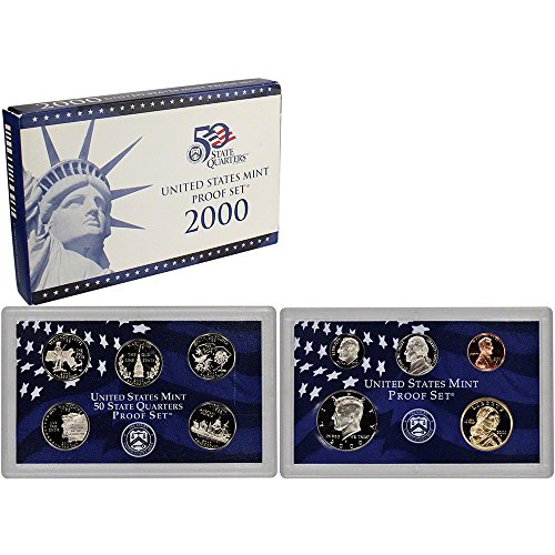 - 2000 S US Proof Set Superb Gem Uncirculated