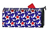 BABBY American USA Flag Mailboxes Cover Rust-Proof Mail Box Covers Large Capacity Post Mouth Letter