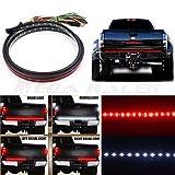 mitsubishi 60 inch lamp light - Mega Racer 60 inch Truck SUV Tailgate Red White LED Signal Running Reverse Back Up Brake Lamp Light Strip Bar US Trailer RV Pickup