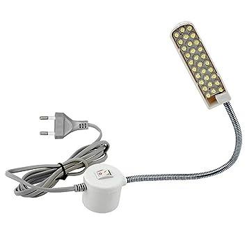 Súper Brillante 30 Cuentas de La Lámpara de Costura de La Máquina de La Máquina de Luz de Trabajo En Casa Accesorios de la Máquina de Coser Lámpara: ...