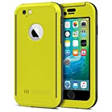 Seidio OBEX Waterproof Case for Apple iPhone 6 - Retail Packaging - Yellow/Gray