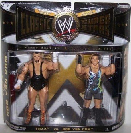 WWE JAKKS Classic Super Stars Tazz vs. Rob Van Dam