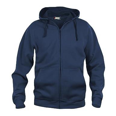 Clique Herren Basic Full Zip Hoody Kapuzenpullover: Amazon