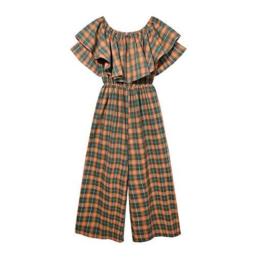 Pata Verano Pantalones 66wxn48 Ancha Green Amp;x Mono Mujer Qin Yvbf7g6y