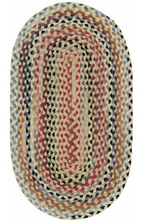 100% Wool Capel Rugs (Capel Rugs Plymouth Collection 100 Light Gold 24