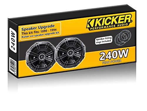 Ford Orion Front Door Speakers Kicker 6.5' 17cm car speaker kit 240W