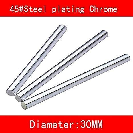 Ochoos 45# eje lineal de acero galvanizado cromado diámetro 20 mm ...