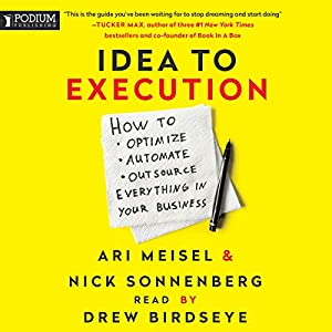Idea to Execution Audiobook