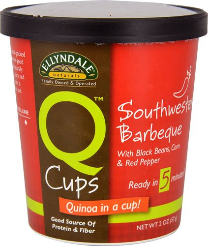 NOW Foods Ellyndale NaturalsT Q CupsT Quinoa in a Cup Sothwestern Barbeque — 2 oz