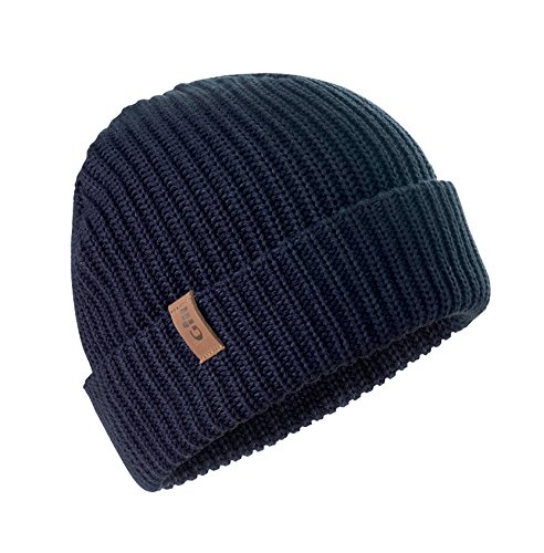 Gill Floating Knit Beanie One Size Navy