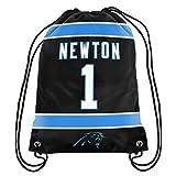 Cam Newton #1 Carolina Panthers Jersey Back Pack/Sack Drawstring gym Bag NFL-show original title