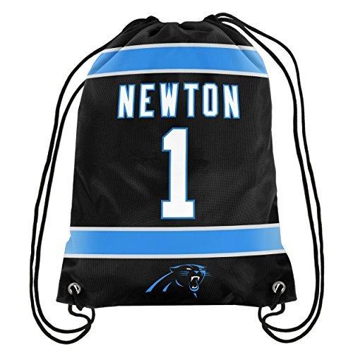 - Cam Newton #1 Carolina Panthers Jersey Back Pack/Sack Drawstring gym Bag NFL-show original title